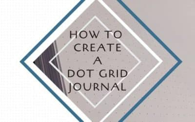 How to Create a Dot Grid Journal for Amazon KDP Low Content Publishing