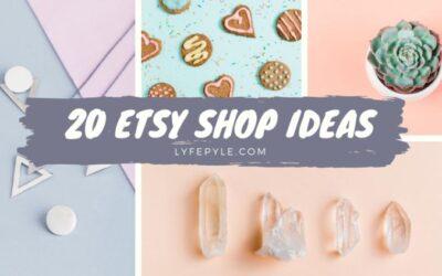 20 Unique Etsy Shop Ideas