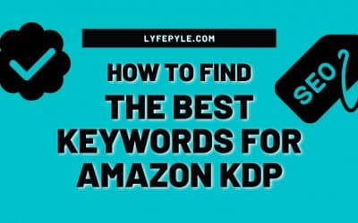 How to Find the Best Keywords for Amazon KDP for FREE