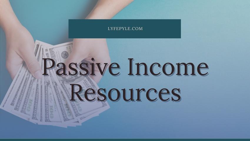 Passive Income Resources