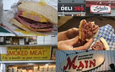 Where to get the best Montreal Smoked Meat while in Montreal