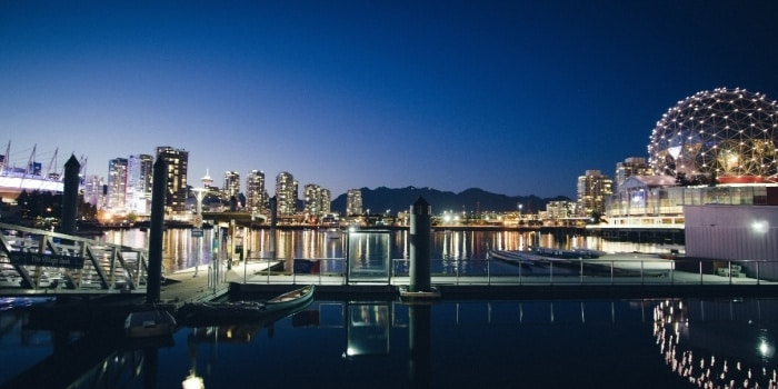 Beautiful picture of Vancouver