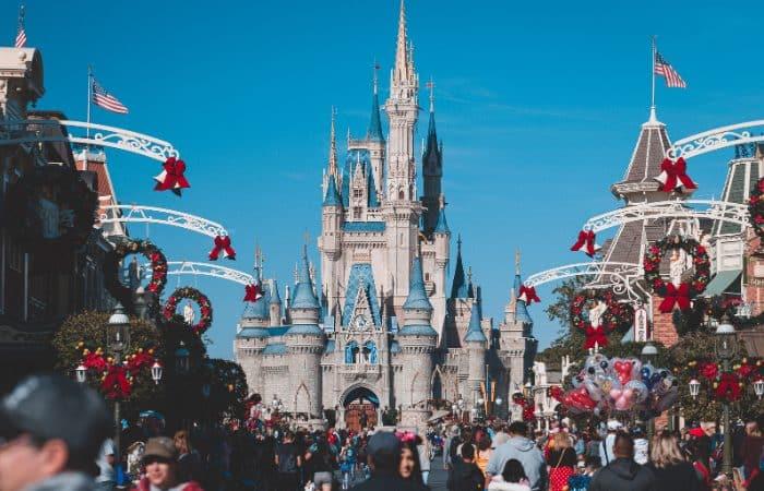 a photo of Cinderella's castle in the Magic Kingdom in Orlando Florida