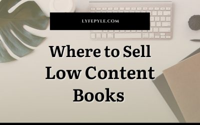 Where to Sell Low Content Books Online
